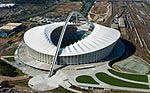 Moses Mabhida Stadium Durban - nicely surrounded with orgonite tbs and earth pipes