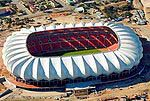 Nelson Mandela Stadium - to be gifted with orgonite